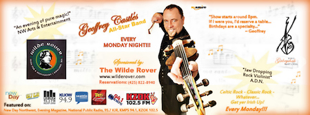 Geoffrey Castle at the Wilde Rover